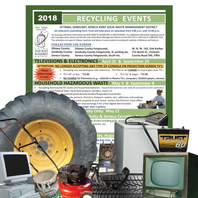 Recycling Events Flyer
